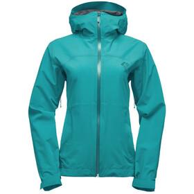 Black Diamond W's Stormline Stretch Rain Shell Jacket Evergreen